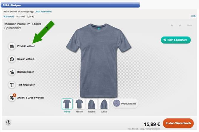 Shirt Anleitung Designer Zum Eigenen Für Den Schritt T ZiuOXTPk