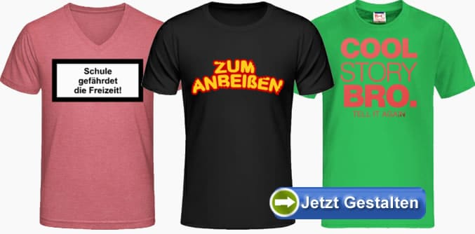 t shirts mit spruch bedrucken spr che shirts selbst. Black Bedroom Furniture Sets. Home Design Ideas